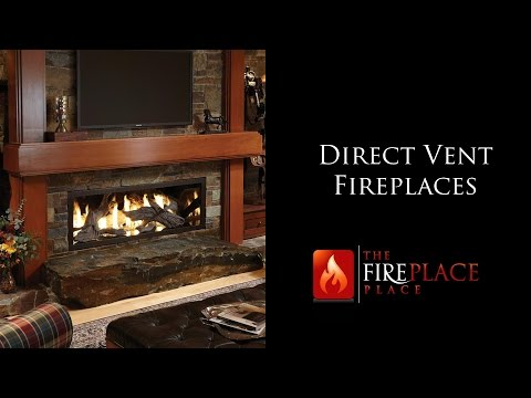 Direct Vent Fireplaces Atlanta | The Fireplace Place