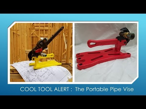 COOL TOOL ALERT!  The PortablePipe Vise