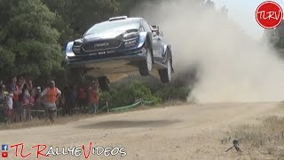 WRC Rally Italia Sardegna 2019 by TL RallyeVideos - Jumps Show and full attack [HD]