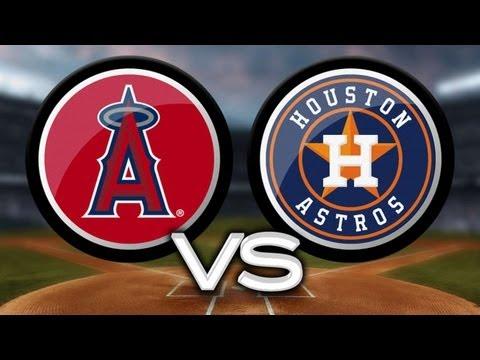 9/13/13: Grand slam helps Astros snap Angels streak