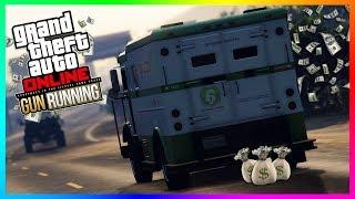 GTA ONLINE BEST WAYS TO MAKE MONEY TO PREPARE FOR GUNRUNNING DLC - BECOMING A MILLIONAIRE! (GTA 5)