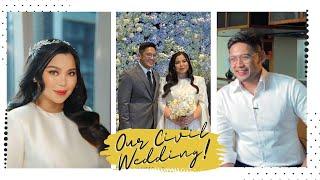 OUR WEDDING DAY VLOG 👰🏻🤵🏻   Maricel Tulfo