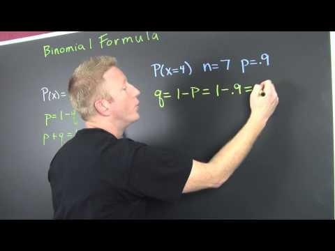 Using the Binomial Distribution Formula