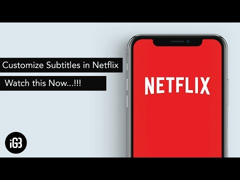 How to Customize Subtitles in Netflix