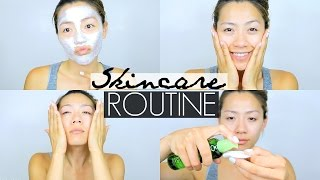 How I Get Clear Glowy Skin Skincare Routine For Oilycombination Acne