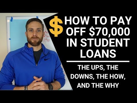 DEBT FREE!! WHAT IT TAKES TO PAY OFF $70,000 IN STUDENT LOANS FAST!!! (HONEST TRUTH)