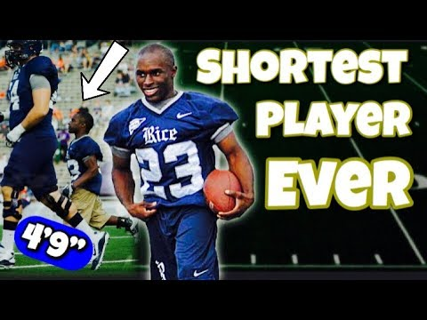 Meet the SHORTEST Player in College Football History