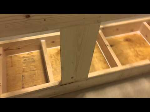 300 gallon fish tank stand (part one)