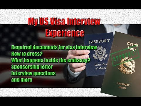 US Visa Interview Experience | Interview Questions | How to DV, Family, Student, Business Visas