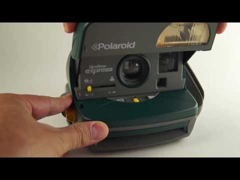 Polaroid One Step Express 600 (Green)