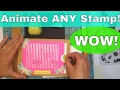 How to Animate ANY Stamp DIY Analog Lenticular Animation