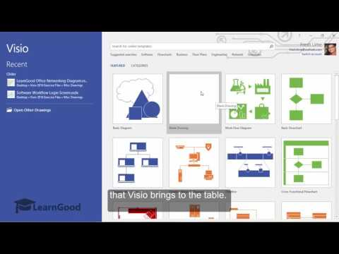 Microsoft Visio Tutorial - A First look at Visio 2016 UI