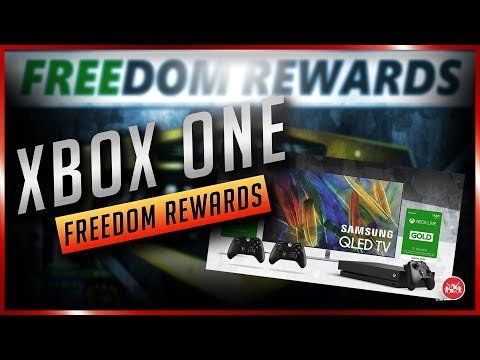 Xbox One | FREEdom Rewards, Chance at Winning Xbox One X & More!