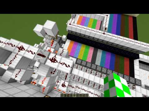 [Redstone with AGuy] - Minecraft Redstone Printer for 1.9+