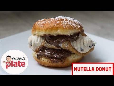How to Make HOMEMADE DONUTS with Nutella | CANNOLO BURGER | 50k Subs Doughnuts Recipe