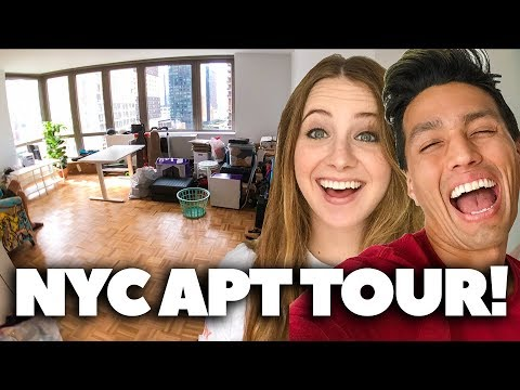 OUR FIRST NYC APARTMENT!! *Manhattan 1 Bedroom 2017*