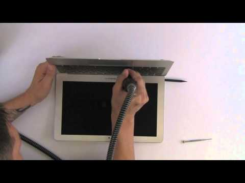 MacBook Air 11-inch LCD Screen Take Apart Repair Disassembly by TechRestore