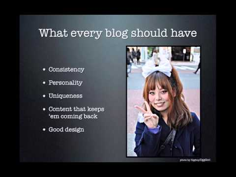 Blogging 101: Naming your blog and more