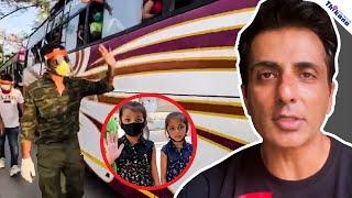 कुछ Celebrity Mask बनाना सीखा रहे हे वही Sonu Sood Mask पहन कर कर चुके हे हजारो गरीब मजदूरों का भला