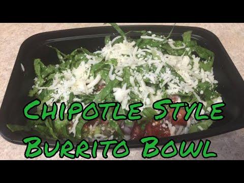 how to make chipotle style burrito bowl || Burrito Bowl