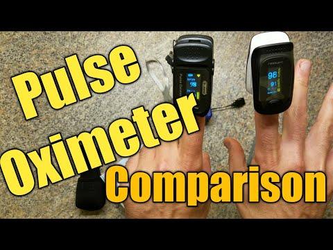 Dr.meter vs. MeasuPro vs. Santamedical Pulse Oximeters Comparison