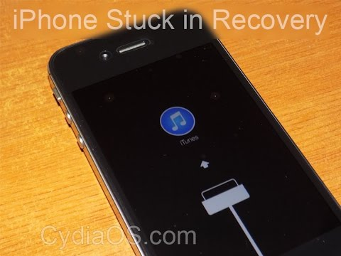 How To Force iPhone To Exit Recovery Mode Using RedSn0w.