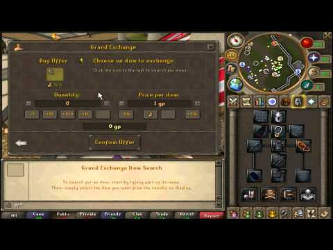 (Runescape Bungness Legacy) - Using Promissory Note!