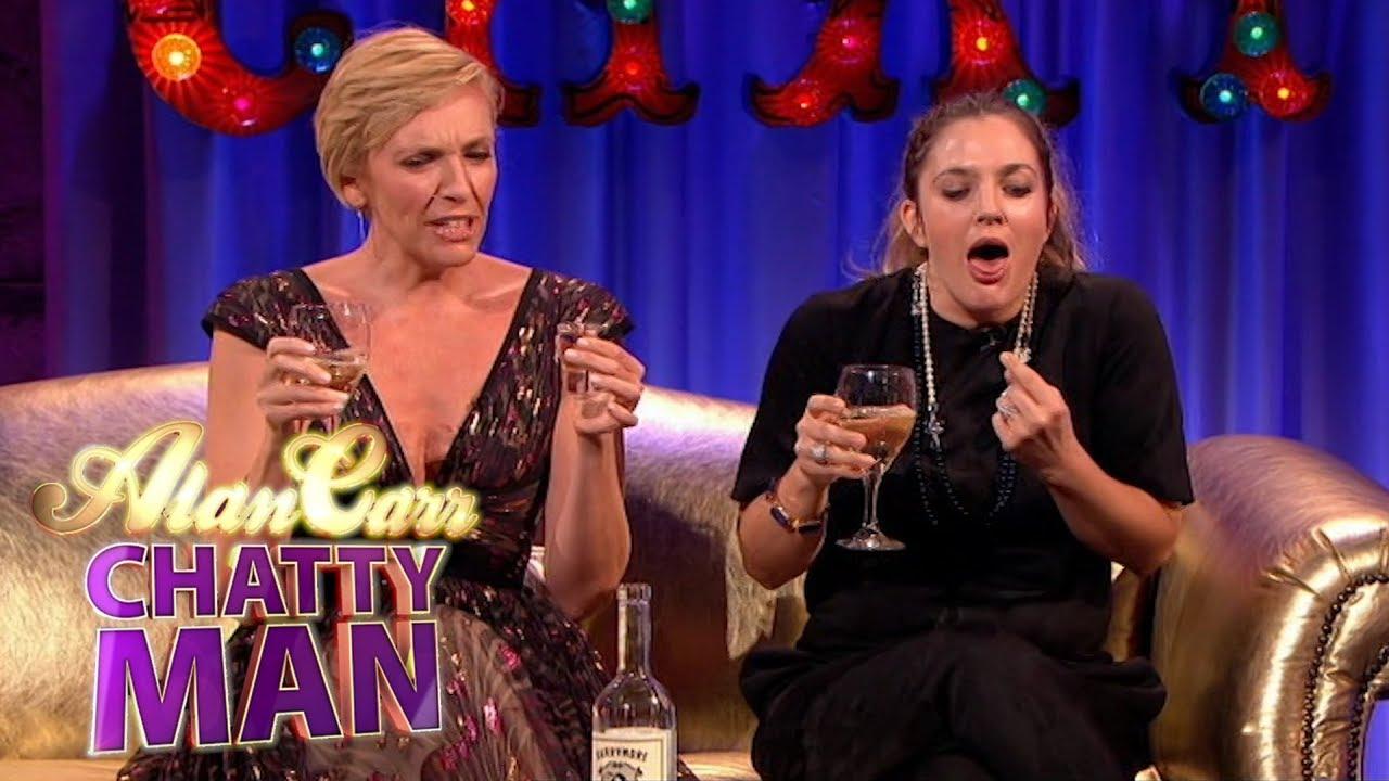 Drew Barrymore & Toni Collette Do Awkward Karaoke! | Full Interview | Alan Carr: Chatty Man