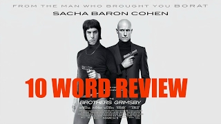 The Brothers Grimsby - 10 Word Movie Review