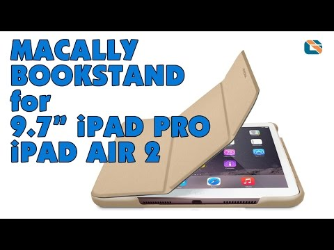 Macally BookStand Case Review for 9.7-inch iPad Pro & iPad Air 2