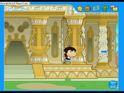 Poptropica Mythology Island Part 1: Items to help you