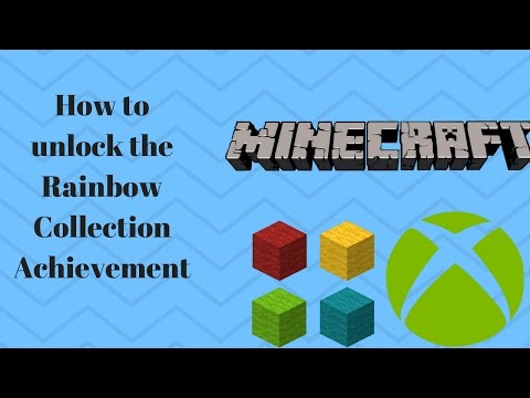 How to unlock the Rainbow Collection Achievement! EASY!