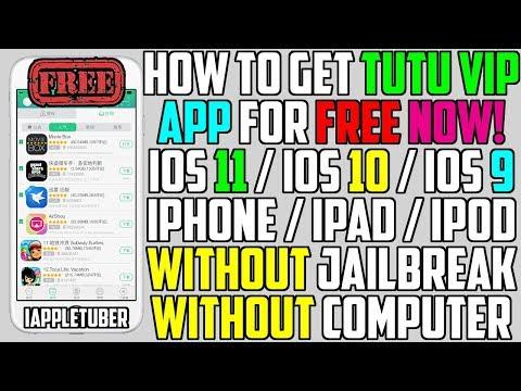 How To Get TUTU Vip Alternative FREE on iOS 11 / 10 / 9 (NO Jailbreak NO Computer) iPhone,iPad,iPod