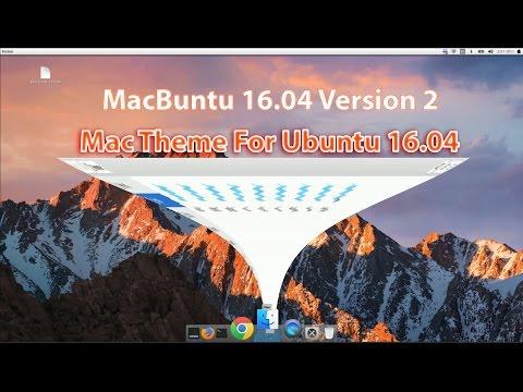 ✓ NEW macbuntu 16.04 : Make Ubuntu Look Like Mac OS X (Version: 2)