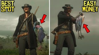 Download Red Dead Online - Best Spot to Hunt & Make BIG Money! ($50 Every 5-10 Minutes) Video