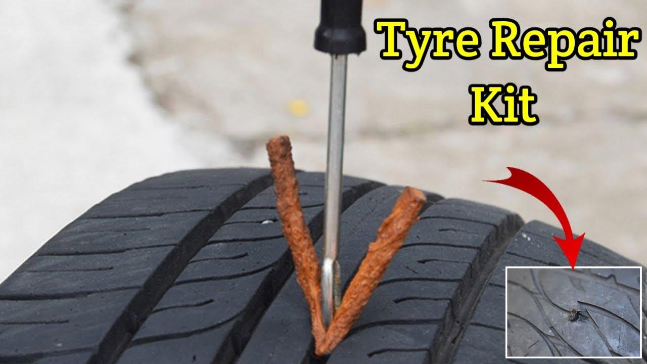Tyre Puncture Repair Kit Tutorial - Easy Fix
