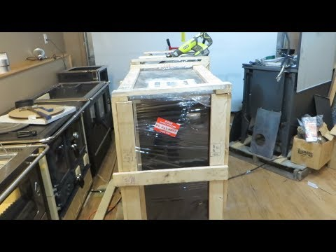 Obadiah's: Uncrating a Wood Cookstove