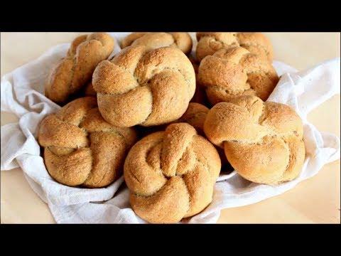 Soft Whole Wheat Dinner Rolls Recipe / Panini Integrali al latte