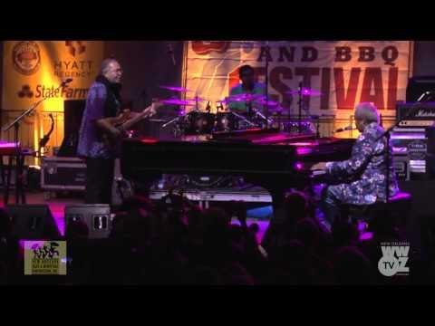 Allen Toussaint at Crescent City Blues & BBQ Festival