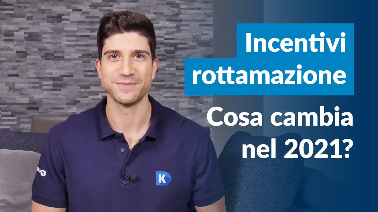 Incentivi Rottamazione Auto 2021 | Fino a 14.500 € Per l'Auto Nuova. Cosa Cambia Da Gennaio?