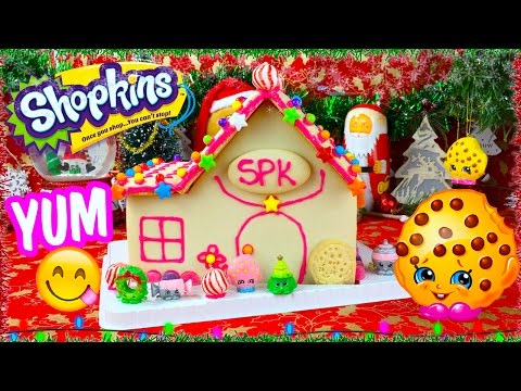 Shopkins Kooky Cookie Gingerbread Candy House