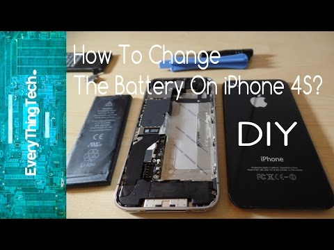 How To Change The Battery On iPhone 4S?