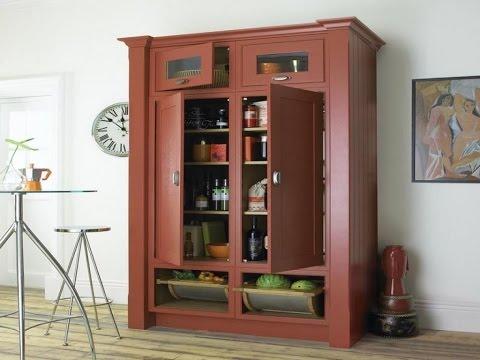 Amusing Free Standing Corner Pantry Cabinet Ideas