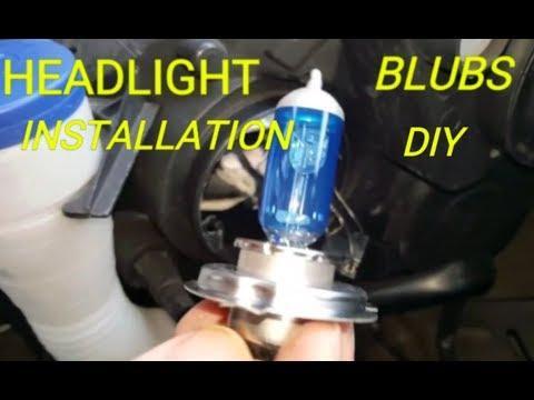 Peugeot partner Headlights bulb upgrade