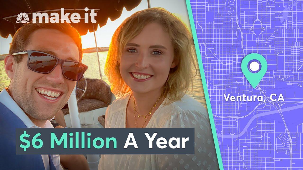 Living On $6 Million A Year In Ventura, CA | Millennial Millionaire