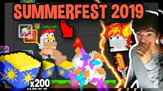 IDIOT WASTES ALL HIS DLS ON SUMMER SURPRISES - Growtopia