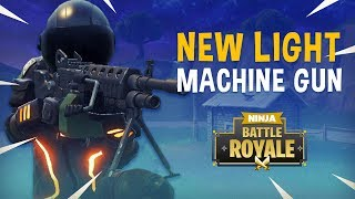 LMG & C4 ONLY - Educational Tips & Tricks Gameplay - Fortnite Battle Royale - Ninja