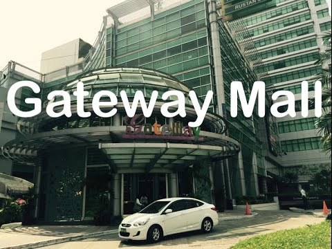 Gateway Mall Overview Walking Tour Araneta Center Cubao Quezon City by HourPhilippines.com