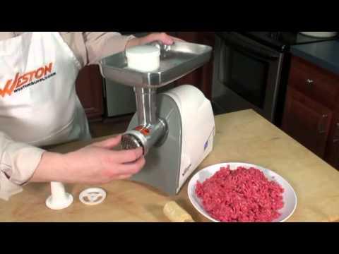 Weston 575 Watt Electric Meat Grinder