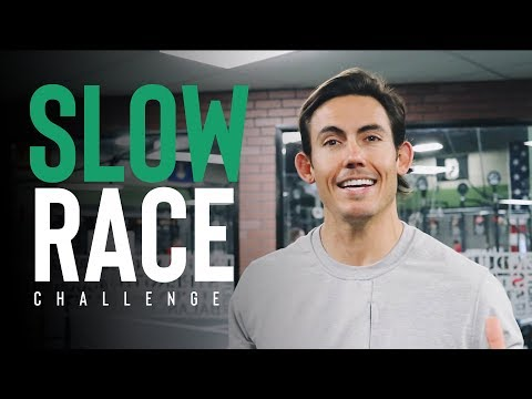Rowing Workouts: The Slow Race Challenge
